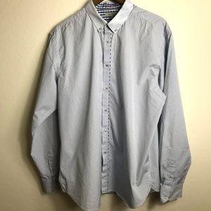 Ted Baker London Long Sleeve Dress Shirt Plaid